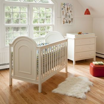 Lolly And Me Ellery Convertible Crib And Changing Table