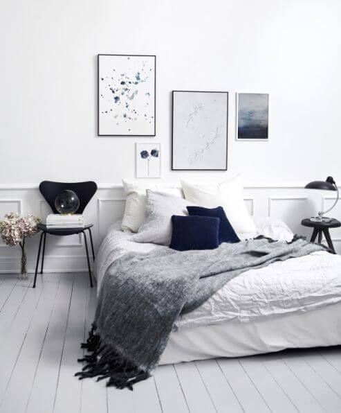 Bildresultat för bedroom inspiration scandinavian