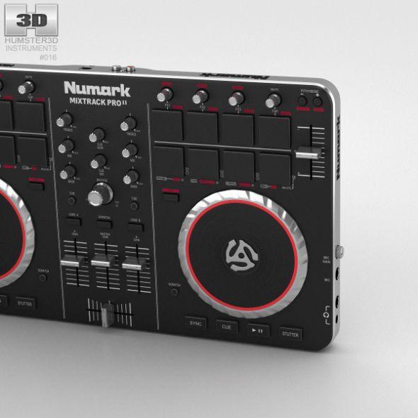 Numark Mixtrack Pro Ii Dj Controller Dj Control The Originals