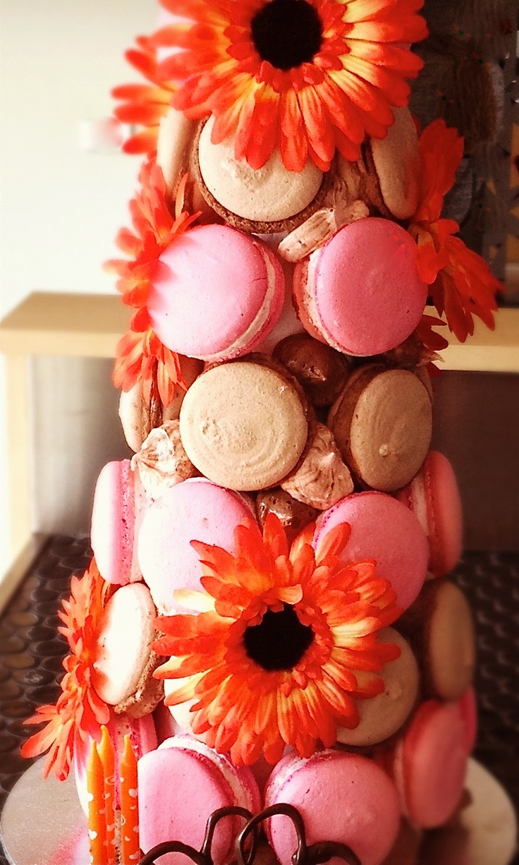 If you're absolute bananas about macaroons, why not order a tower for a special occasion?