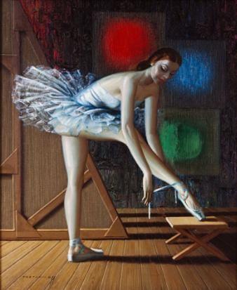Vladimir Tretchikoff - Ballerina