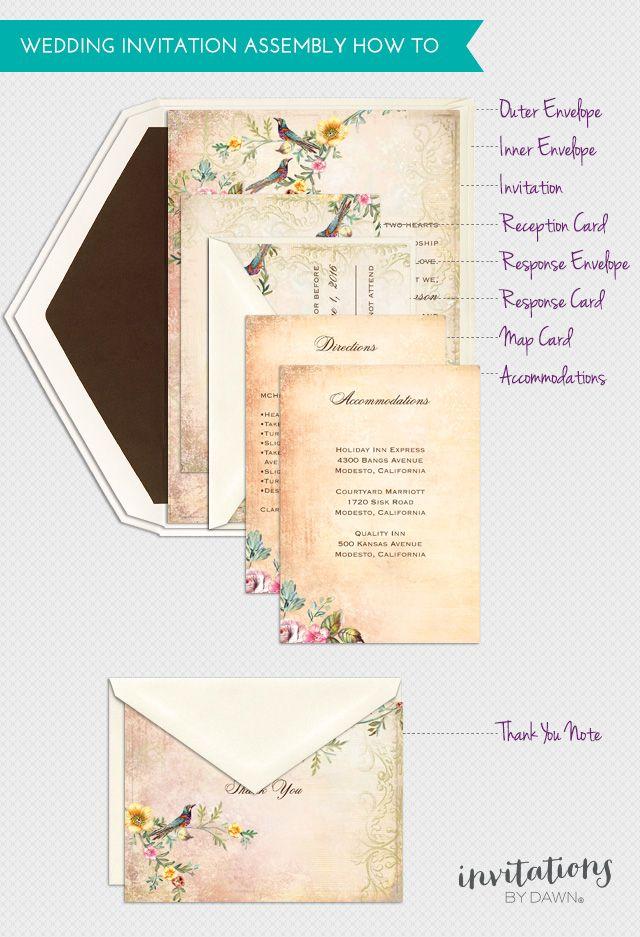 how to stuff wedding envelopes properly - Wedding Invitation Envelope Etiquette