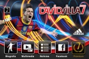 David Villa's official blog