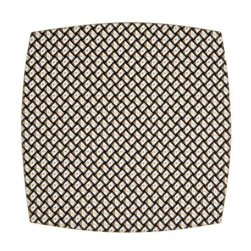 Benson Mills Basketweave Harbacked Mat, Set of 4, Tan by Benson Mills. Save 63 Off!. $14.99. Features a colorful basketweave pattern printed on vinyl material. Available in set of 4. 14-1/2-Inch square. 100% PVC. Very easy to clean. Perfect for everyday use. Make even a simple meal a stylish affair with this contemporary hard backed placemat. Features a colorful basketweave pattern. Perfect for everyday use, and very easy to clean.