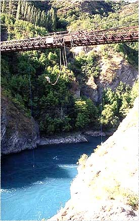 bungee jumping in new zealand!