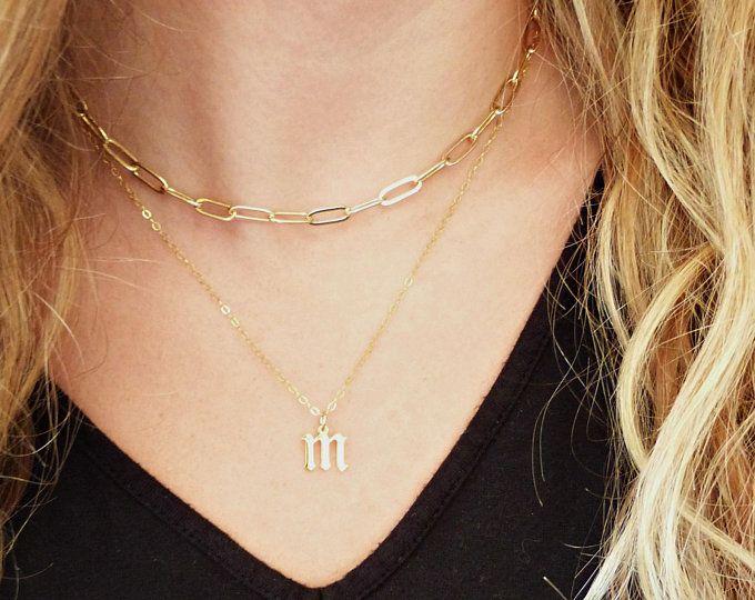 birthday gift necklace wedding necklace leather gold bead necklace wedding gift necklace leather and bead necklace gold necklace
