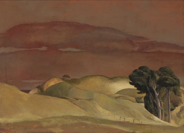 'Near the back beach' (2013) by Australian artist Rick Amor (b.1948). Oil on canvas, 72 x 100 cm. via Liverpool Street Gallery