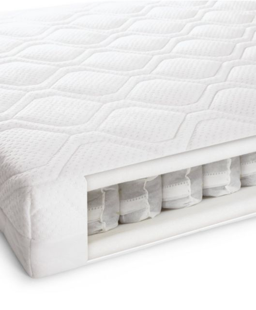 Pocket Sprung Anti-Allergy and Temperature Regulating Cotbed Mattress