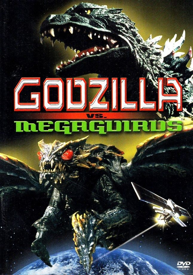 """""""Godzilla vs. Megaguirus"""". A worthy entry into the Godzilla series that pits the radioactive creature against the queen of a giant insect species which slipped in from another dimension. As always, a Toho Co. Ltd. film, directed by Masaaki Tezuka from 2003. Japanese language with English subtitles. 2.35:1 anamorphic widescreen. Unique plot."""