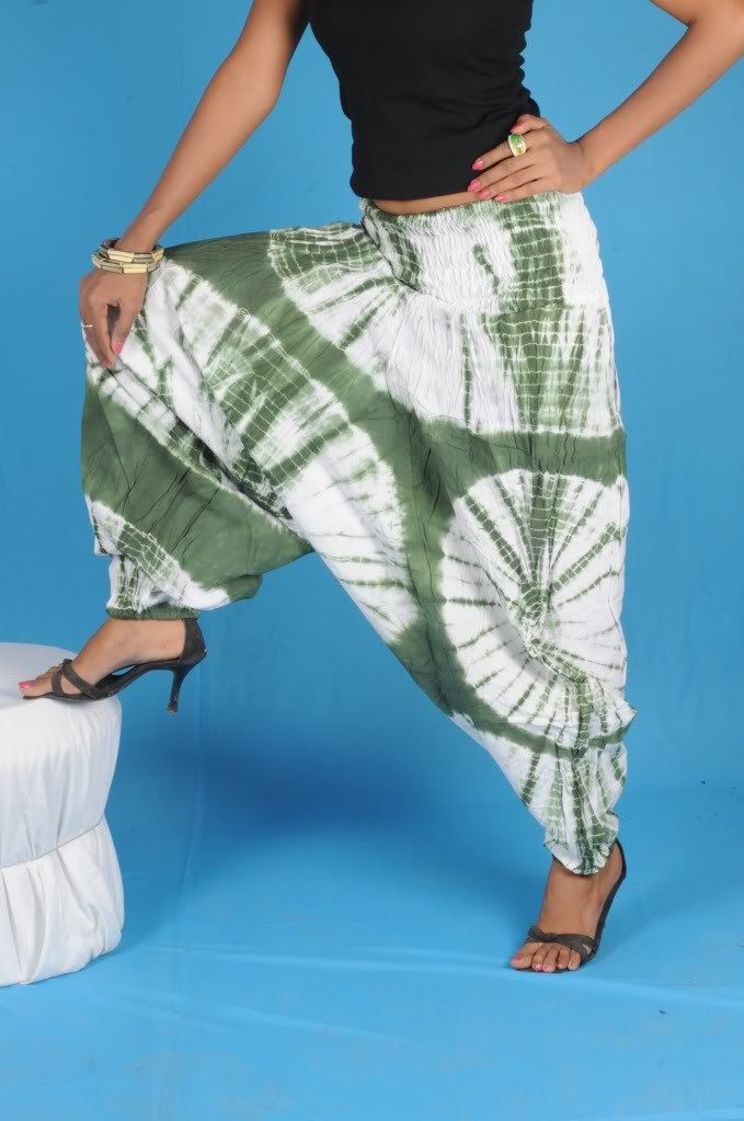 Women Harem Pants Alladin Genie Pants Plus by Labhanshiclothing