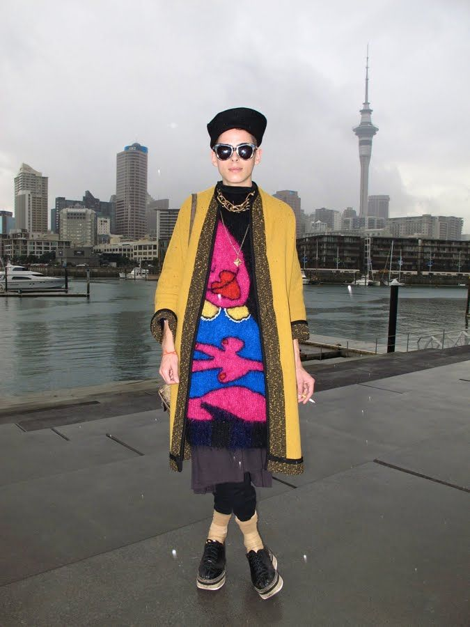 Facehunter - Auckland New Zealand Fashion Week F/W 2012