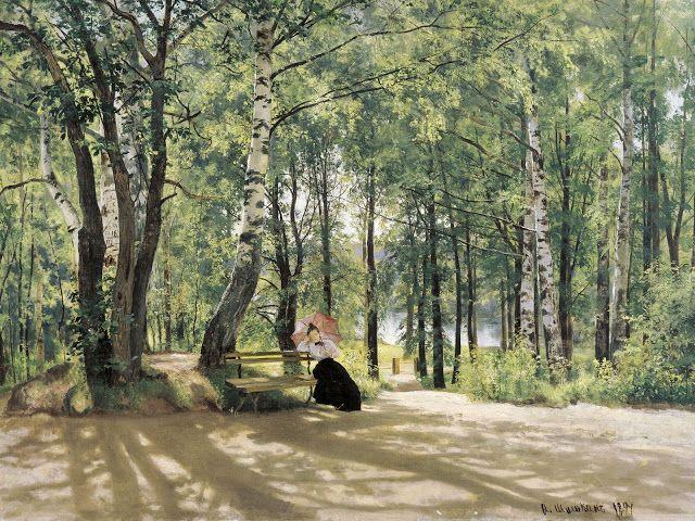 Κοντά στο χωριό. (1894)