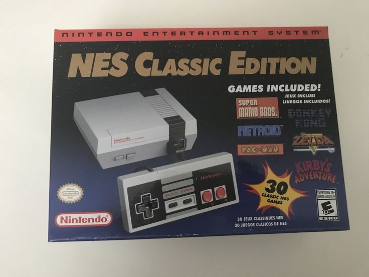 NES CLASSIC EDITION MINI Nintendo Official System BRAND