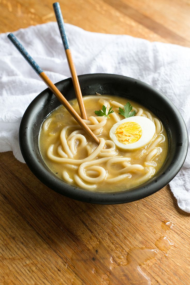 Udon Noodle Soup | Work by Aimee | Pinterest