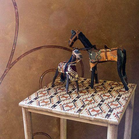 Geométricas South West y occidentales Designs - Navajo Sueños Plantillas de muebles damasco - Royal Design Studio