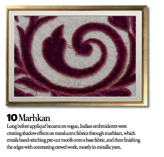 Exquisite Embroideries- MARHKAN