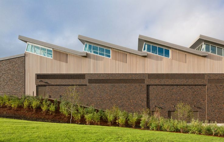 Sandy High School | Dull Olson Weekes Architects | sawtooth remake