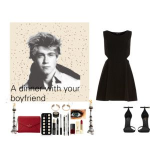 A dinner with Niall, your boyfriend