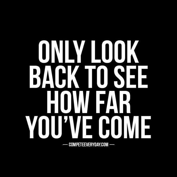 Eyes forward & focused.