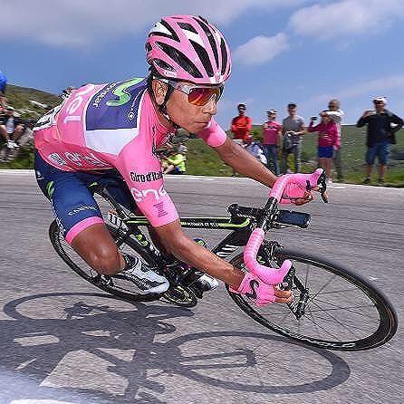 Nairo Quintana Stage 20 Giro d'Italia 2017