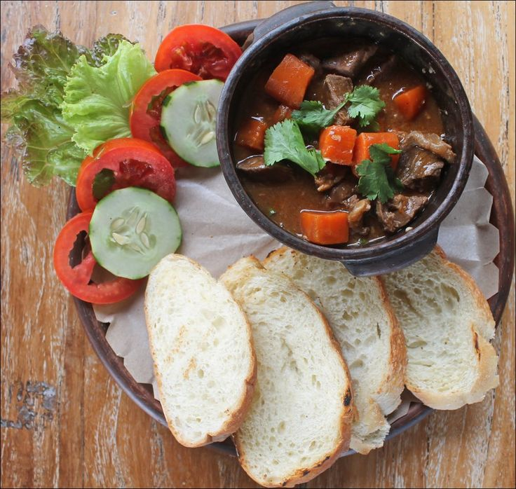 BO KHO Beef Stew with Baguette or Rice