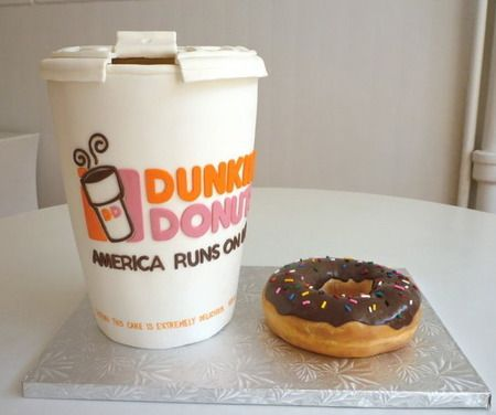 78717f2a2cf4ec7120e00f0babe3e949 donut cakes fun cakes 76 best creativity runs on dunkin' images on pinterest dunkin