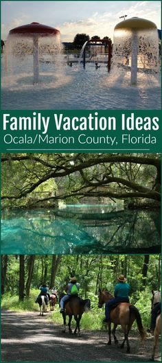 Favorite family destination in Ocala/Marion County, Florida #familyvacation #ocalamarion