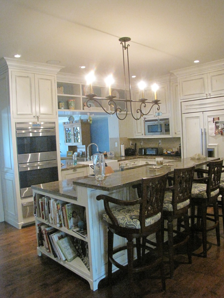 Kitchen Island With Eat In Counter For The Home Pinterest