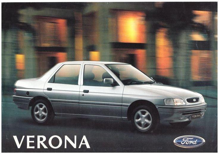 1996 Ford Verona - Brasil