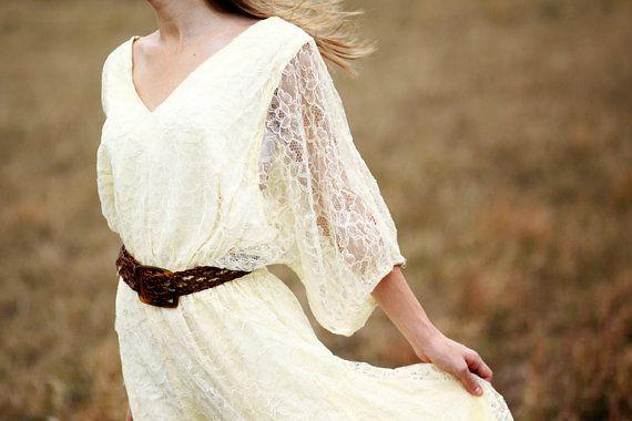 1920's wedding dress realized
