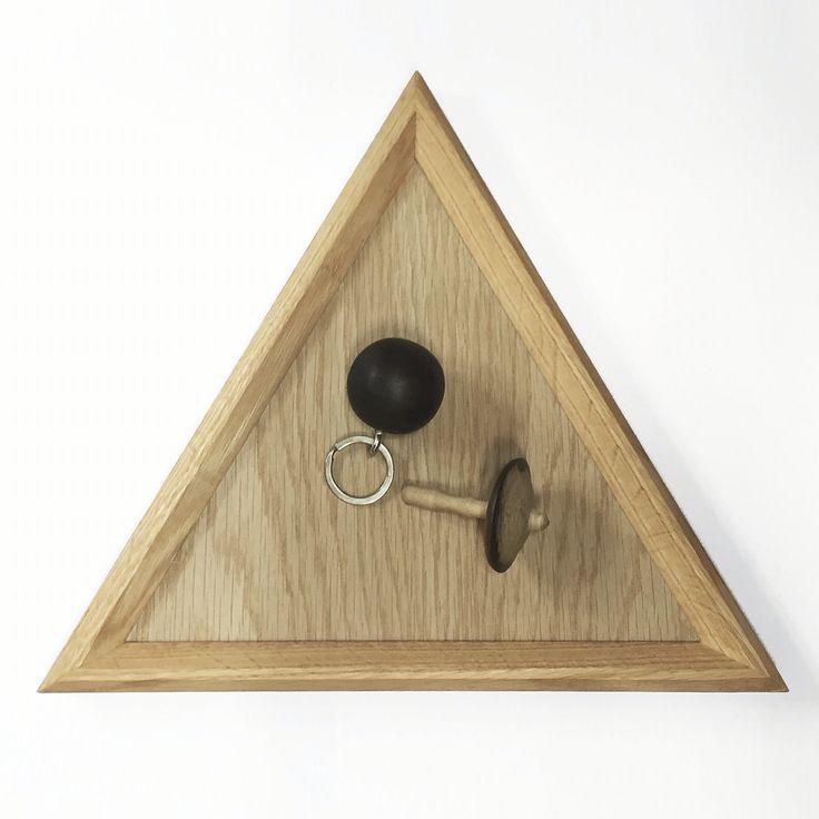 Oak Triangle tray 02 design by halomoon