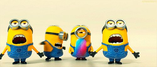 Minions from Despicable Me funny movies animated gif