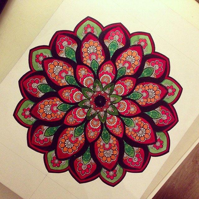 Mandala by Gromova_Ksenya on Flickr.