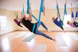 Aerial Yoga on the Eastern Shore
