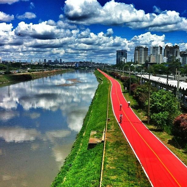 Ciclovia Rio Pinheiros , São Paulo