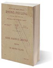 Nuevos aparatos de laboratorio. Societé des usines chimiques RHONE-POULENC. 1931