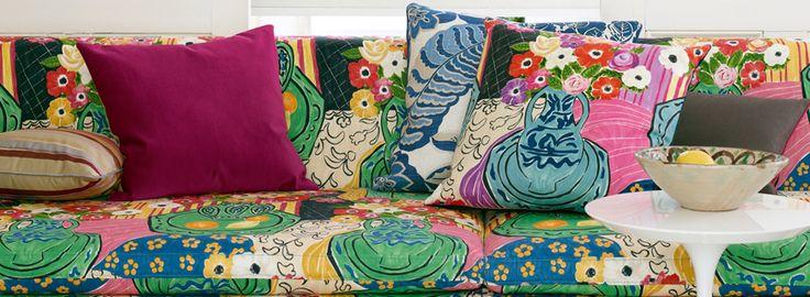 Sanderson - Bloomsbury Canvas Fabrics #Sanderson #Decoracion #Tapizado #Tapizados #Upholstery #Muebles #Butaca #Estampado #butacaSanderson #Butacacalidad #Butacaestampado #Estudioestilo