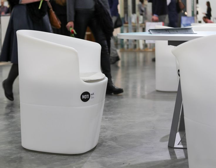 NOTI armchairs | TULLI collection | design by #TomekRygalik #remoulding #technology #outdoor #transparent #office #club #hotel #restaurant #PublicPlaces #ShoppingMall #ConceptStores #retail #PolishDesign #modern #furniture #TopDesign #award