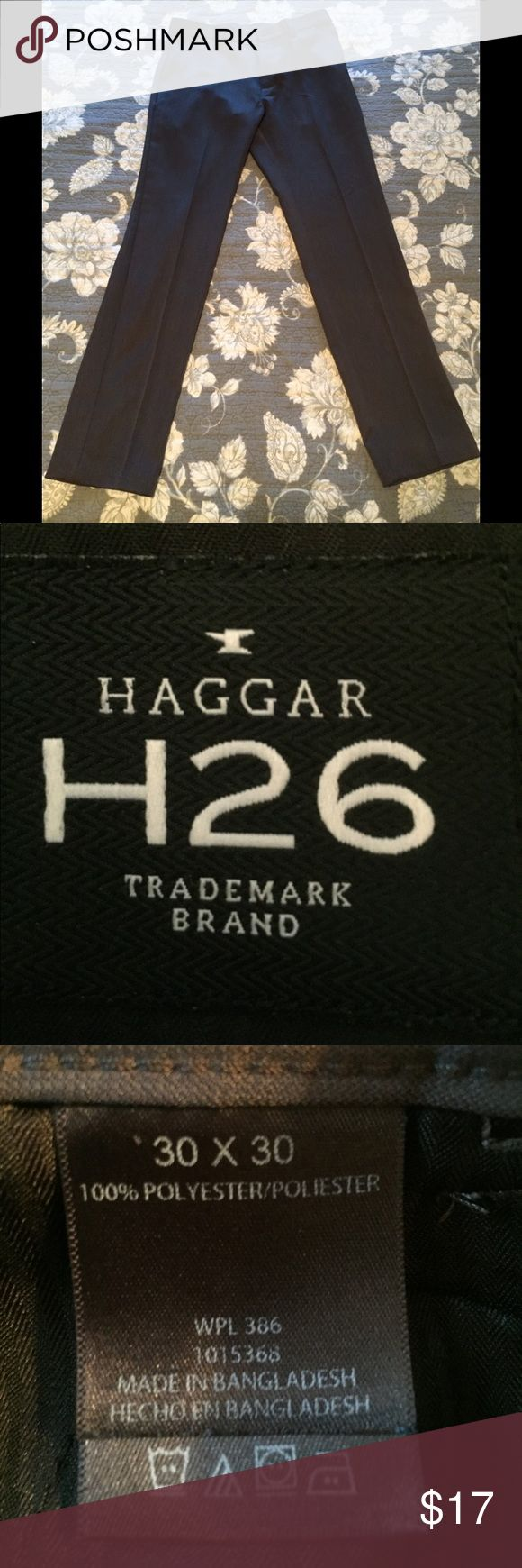 Haggar 30x30 Slim Fit Dress Pants NWOT 30x30 slim fit Haggar dress pants. Bought them for my fiancé and they didn't fit him unfortunately. Brand new. Haggar Pants Dress
