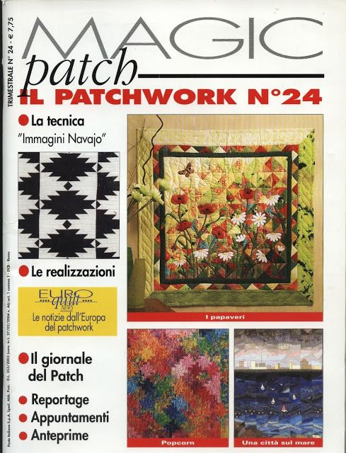 48 best magic patch mag images on Pinterest   Books, Picasa and ... : magic patch quilting - Adamdwight.com
