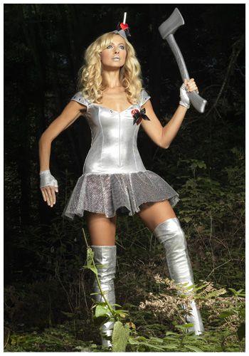 Tempting Tin Man costume #Sexy #Halloween #WizardofOz