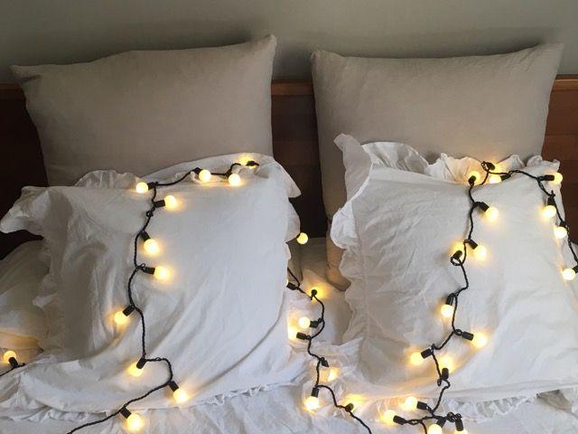 Guirnaldas, Cortinas y Cascadas de Luz con funcionamiento LED