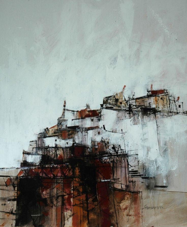 East Neuk Harbour by James Somerville (Scottish painter)