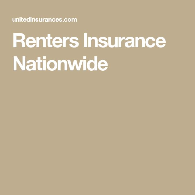 Nationwide Insurance Quote: 17 Best Ideas About Renters Insurance On Pinterest