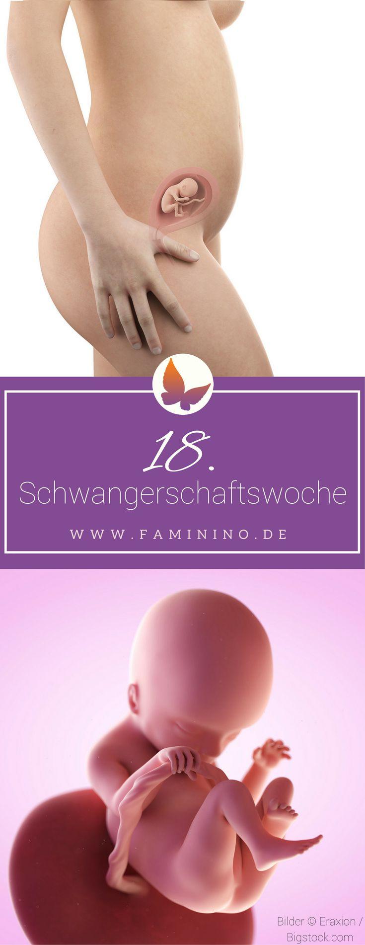 18. SSW (Schwangerschaftswoche): Dein Baby, dein Körper, Beschwerden und mehr