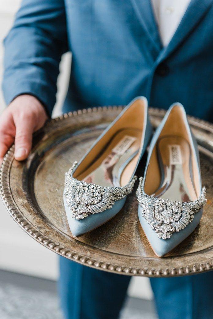 dd8954d5aea Modern Cinderella Wedding Shoot - Glittery Bride