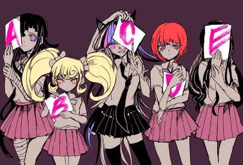 Danganronpa Twilight Murder Case Girls