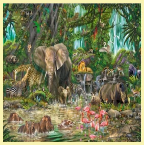 For Everything Genealogy - African Experience Animal Themed Maxi Wooden Jigsaw Puzzle 250 Pieces, $65.00 (http://www.foreverythinggenealogy.com.au/african-experience-animal-themed-maxi-wooden-jigsaw-puzzle-250-pieces/)