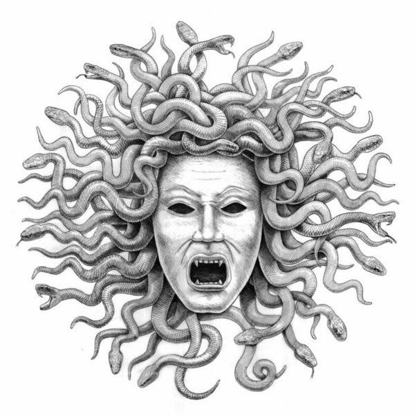 mitologia grega medusa corpo - Pesquisa Google