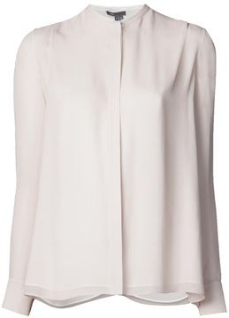Vince banded collar shirt on shopstyle.co.uk
